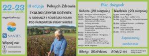 III Edycja Pełnych Zdrowia Ekologicznych Dożynek u Tadeusza Rolnika pod patronatem firmy Nantes.