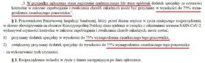 Rozporządzenie w sprawie dodatku dla pracowników Sanepidu