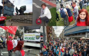 Protesty w Katowicach