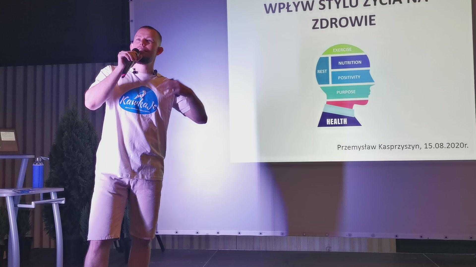 Przemysław Kasprzyszyn: Wpływ stylu życia na zdrowie