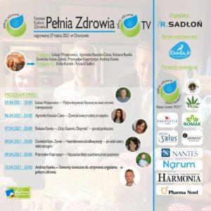 Terminy wykładów na Festiwalu Pełnia Zdrowia