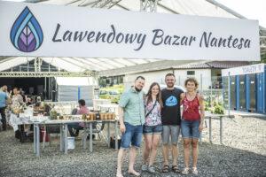 Lawendowy Bazar Nantesa w lipcu