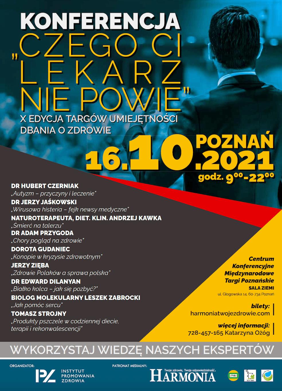 """Read more about the article X edycja """"Czego ci lekarz nie powie"""""""