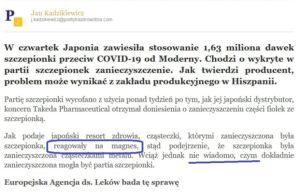 Read more about the article Małgorzata Goldstein: Jak tam foliarze?