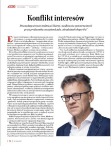 Read more about the article Konflikt Interesów